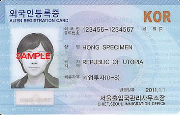 Cách xử lý mất thẻ người nước ngoài