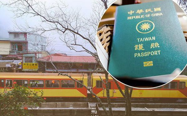 xin visa điện tử Đài Loan 2