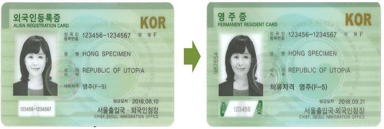 Cách xin cấp lại thẻ người nước ngoài