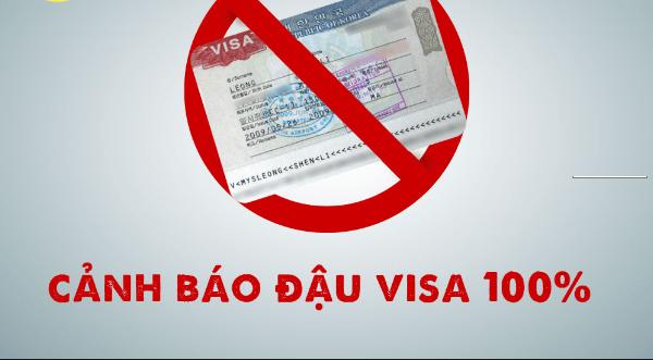 Cảnh báo về việc đảm bảo đỗ visa 100% cho người bất hợp pháp