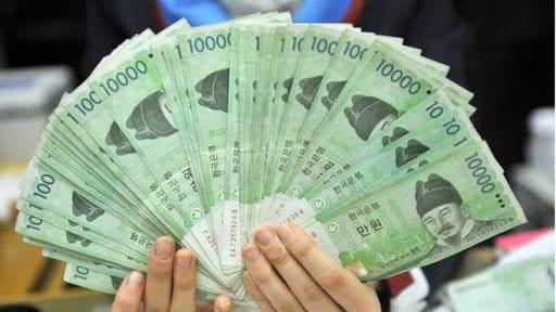 Xuất nhập cảnh Hàn Quốc được mang theo bao nhiêu tiền?