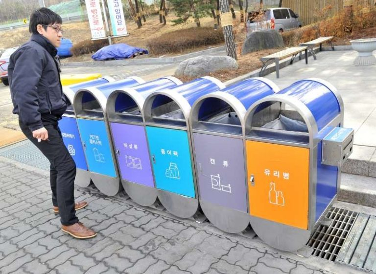 Cách phân loại rác ở Hàn Quốc