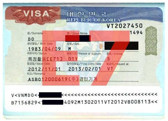 Visa E7: Môi trường sống và làm việc tại Hàn Quốc