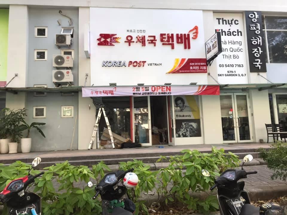 Korea Post tại Việt Nam được đông đảo khách hàng tin dùng