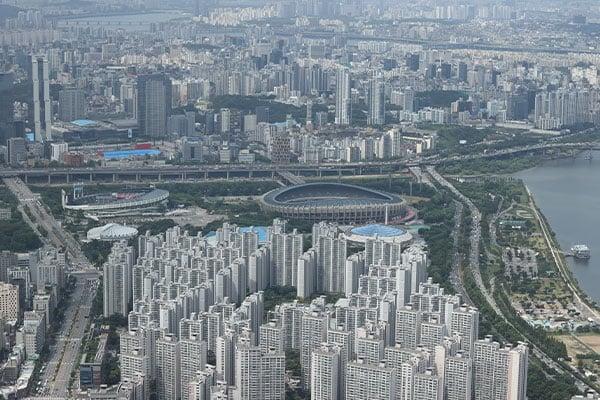 Giá nhà Hàn Quốc đang tăng nhanh hơn các nước lớn